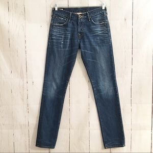 True Religion Geno Slim Blue Jeans Button Fly 30